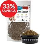Raw Paws Premium Grain-Free Beef Formula Kibble for Dogs (Bundle Deal)