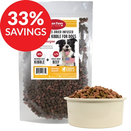 Grain-Free Beef Kibble Infused with Freeze Dried Complete Beef (Bundle Deal)