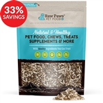 Raw Paws Grain-Free Beef Kibble Infused with Raw Freeze Dried Green Tripe (Bundle Deal)