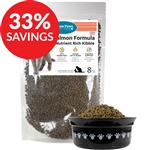 Raw Paws Grain-Free Salmon Formula Nutrient Rich Kibble for Cats (Bundle Deal)