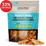Raw Paws Chicken Breast Jerky Treats for Dogs & Cats (Bundle Deal)