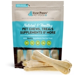 "Compressed Rawhide Bones, 8"" - 5 ct"