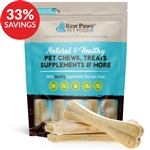 "Compressed Rawhide Bones, 8"" (Bundle Deal)"