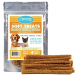 Raw Paws Soft Duck & Turkey Stick Treats for Dogs & Cats, 6 oz