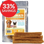 Raw Paws Soft Duck & Turkey Stick Treats for Dogs & Cats (Bundle Deal)