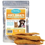Raw Paws Soft Duck & Turkey Fillet Treats for Dogs & Cats, 6 oz