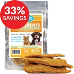 Raw Paws Soft Duck & Turkey Fillet Treats for Dogs & Cats (Bundle Deal)