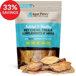 Raw Paws Gourmet Sweet Potato Chip Dog Treats (Bundle Deal)