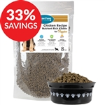 Raw Paws Premium Chicken Kibble for Puppies (Bundle Deal)