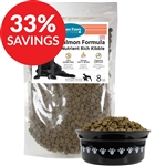 Raw Paws Grain-Free Salmon Nutrient Rich Kibble for Dogs (Bundle Deal)
