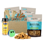 Raw Paws Holiday Gift Box for Large Dogs