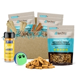 Raw Paws Holiday Gift Box for Medium Dogs