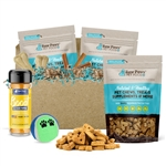 Raw Paws Holiday Gift Box for Puppies & Small Dogs