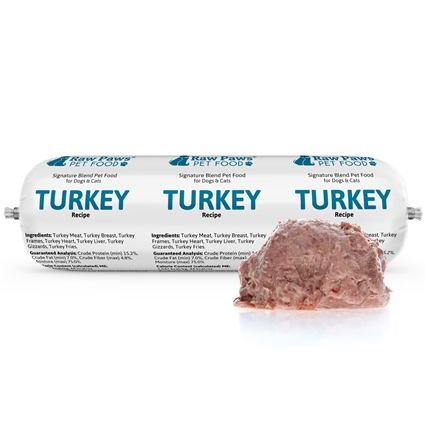 Raw Paws Complete Ground Turkey for Dogs & Cats