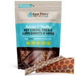 "Beef 6"" Esophagus Jerky Treats for Dogs, 8 oz"
