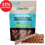 "Beef 6"" Esophagus Jerky Treats for Dogs (Bundle Deal)"