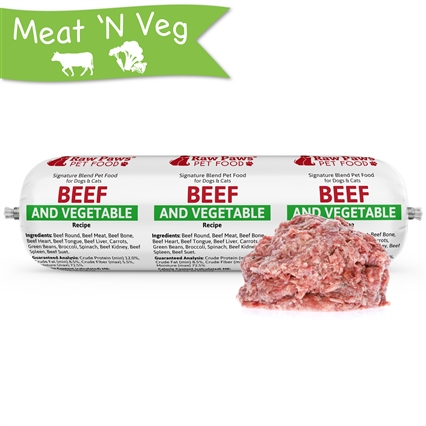 Signature Blend Complete Beef & Vegetable for Dogs & Cats, 3 lb