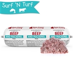 Raw Paws Signature Blend Complete Beef & Mackerel for Dogs & Cats, 3 lb