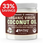 Raw Paws Organic Virgin Coconut Oil Supplement for Dogs & Cats (Bundle Deal)