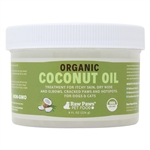 Raw Paws Topical Organic Coconut Oil for Dogs & Cats, 8 fl oz