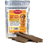 Raw Paws Tender Beef Jerky Treats for Dogs, 5 oz