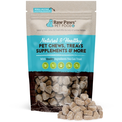 Raw Paws Hip and Joint Glucosamine Soft Chew Supplements for Dogs, 10 oz