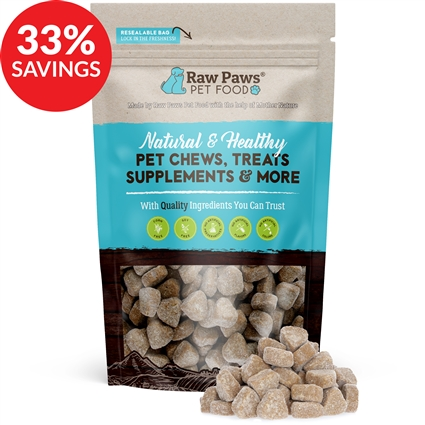 Raw Paws Hip and Joint Glucosamine Soft Chew Supplements for Dogs (Bundle Deal)