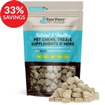 Raw Paws Probiotics & Prebiotics Soft Chew Supplements for Dogs (Bundle Deal)