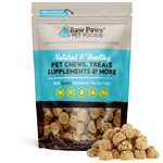 Raw Paws Gourmet Peanut Butter Cookies for Dogs, 10 oz