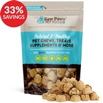 Raw Paws Gourmet Peanut Butter Cookies for Dogs (Bundle Deal)