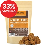 Raw Paws Gourmet Chicken & Veggie Cookies for Dogs, 5 oz