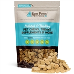 Raw Paws Gourmet Peanut Butter Biscuits for Dogs, 5 oz