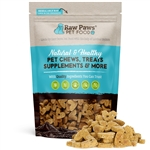 Raw Paws Gourmet Bacon & Cheddar Cheese Biscuits for Dogs, 5 oz