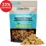 Raw Paws Gourmet Bacon & Cheddar Cheese Biscuits for Dogs (Bundle Deal)