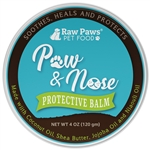 Natural Paw, Nose and Wrinkle Wax for Dogs & Cats, 4 oz