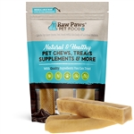 Large Yak Cheese Himalayan Chews for Dogs, 3 ct - Raw Paws Pet