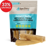 Large Himalayan Yak Cheese Chews for Dogs (Bundle Deal) - Raw Paws Pet