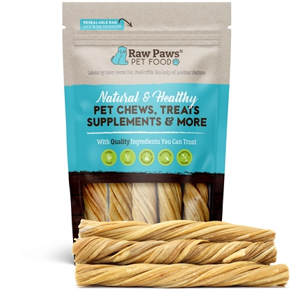 5-inch Beef Tripe Twist Treats, 5 ct