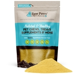 Raw Paws Organic Hip and Joint Green Lipped Mussel Supplement Powder for Dogs & Cats, 5 oz