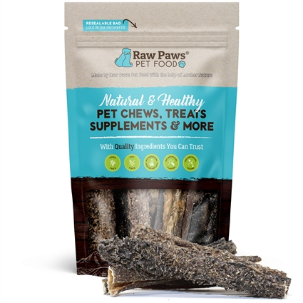 "Raw Paws 6"" Green Beef Tripe Sticks, 5 ct"