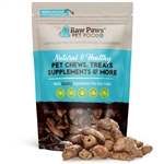 Raw Paws Freeze Dried Chicken Hearts for Dogs & Cats, 4 oz