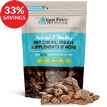 Raw Paws Freeze Dried Chicken Hearts (Bundle Deal)