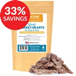 Freeze Dried Sliced Turkey Hearts (Bundle Deal)