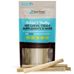 "Raw Paws Compressed Rawhide Sticks, 10"" - 5 ct"