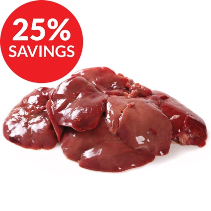 Chicken Liver for Dogs & Cats (Bundle Deal)