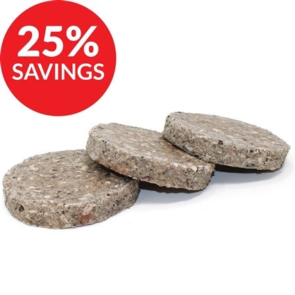 Raw Paws Signature Green Beef Tripe Patties for Dogs & Cats (Bundle Deal)