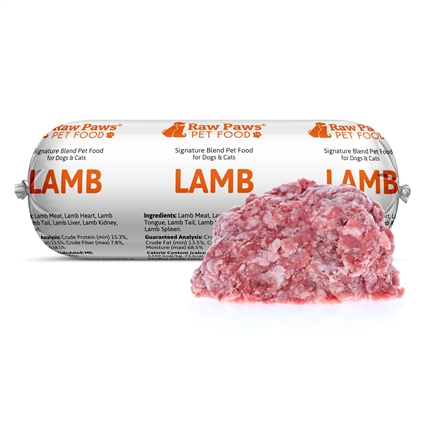 Raw Paws Signature Blend Complete Lamb for Dogs & Cats, 1 lb