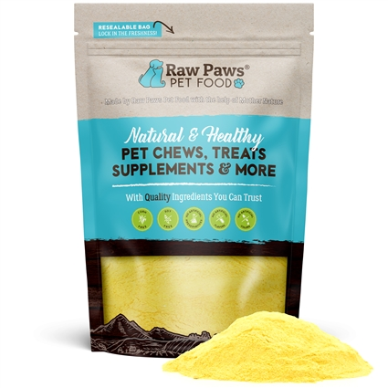 Raw Paws Organic Pumpkin Powder Digestive Daily Support Supplement for Dogs & Cats, 8 oz