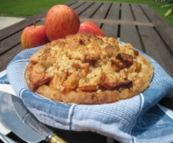 Apple Pie w/Crumble Topping