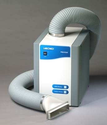 Labconco 3970004 FilterMate Portable Exhauster, 2 Carbon Filters required (not included), 115V, 60Hz